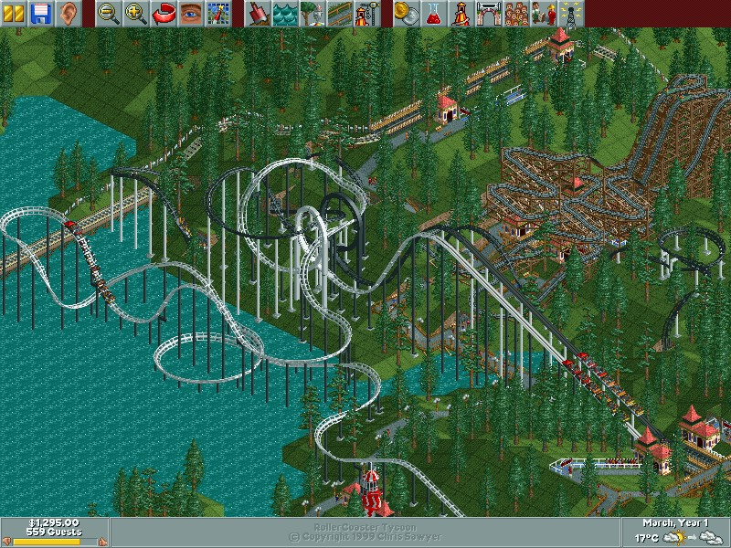 how to get roller coaster tycoon deloux on mac