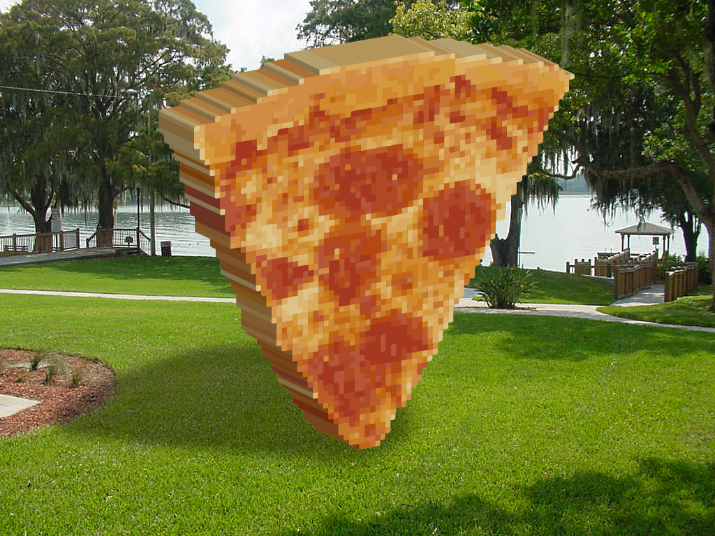 Pizza Public Art Jeff Thompson