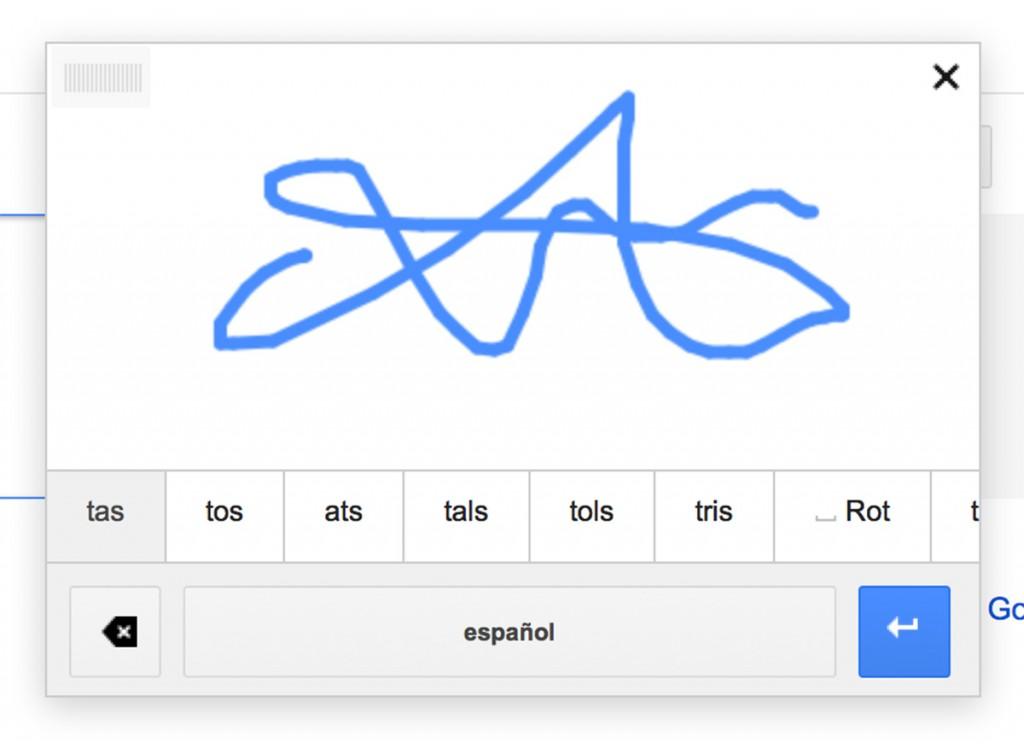 GoogleTranslateHandwritten